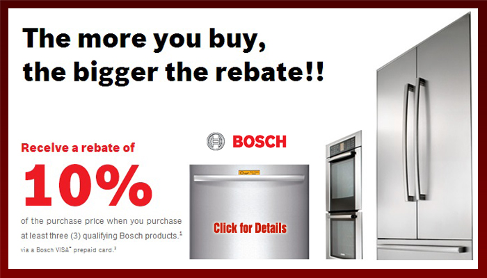 Shop Bosch Appliances