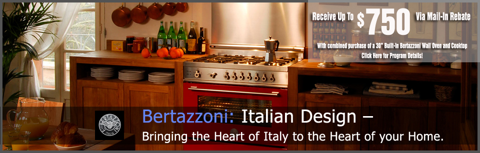 Shop Bertazzoni Appliances