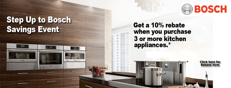 Shop Bosch Appliances and Quiet Dishwashers