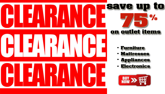 Shop Outlet and Clearance items