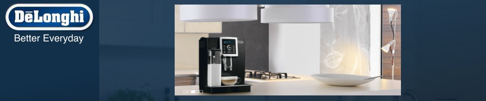 Delonghi Coffee Makers, Blenders, and Toasters