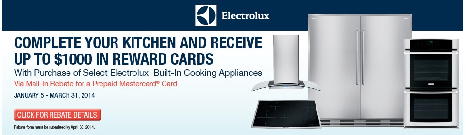 Shop Electrolux Appliances