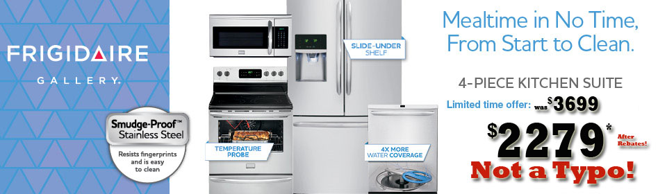Stainless Steel Appliance Packages
