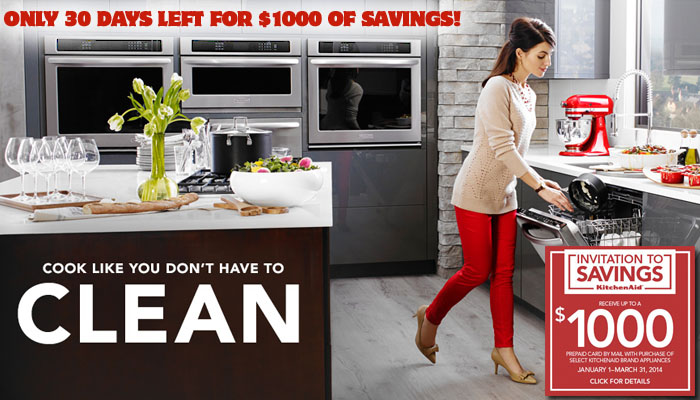 Kitchenaid Appliance Savings