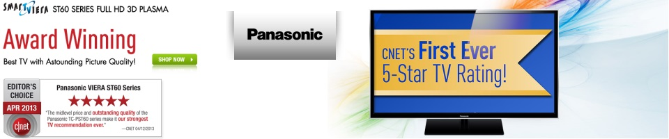 Shop Panasonic HDTV's, Smart Viera