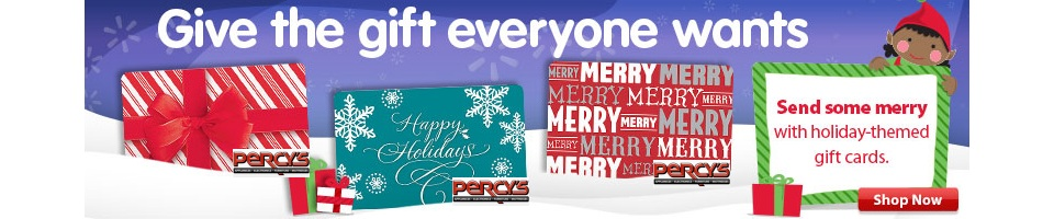 Holiday Gift Ideas from Percy's