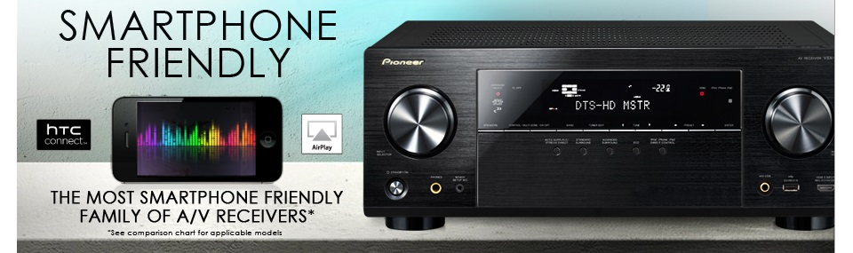 Pioneer A/V Receivers