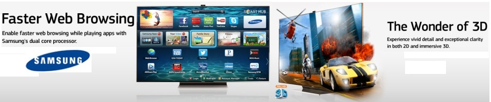 Shop Samsung SMART LED TV's