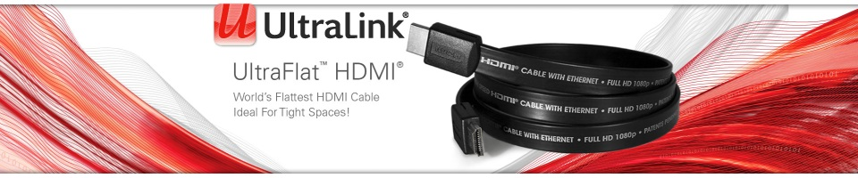 Ultralink HDMI Audio Video Cables