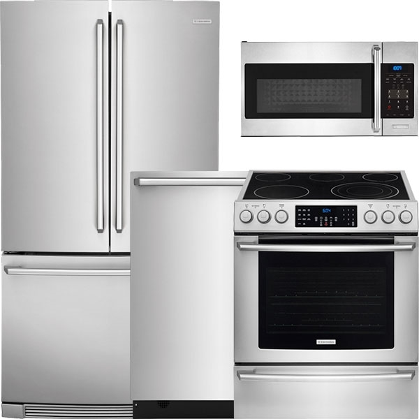 Great 4 Piece Stainless Steel Kitchen Package