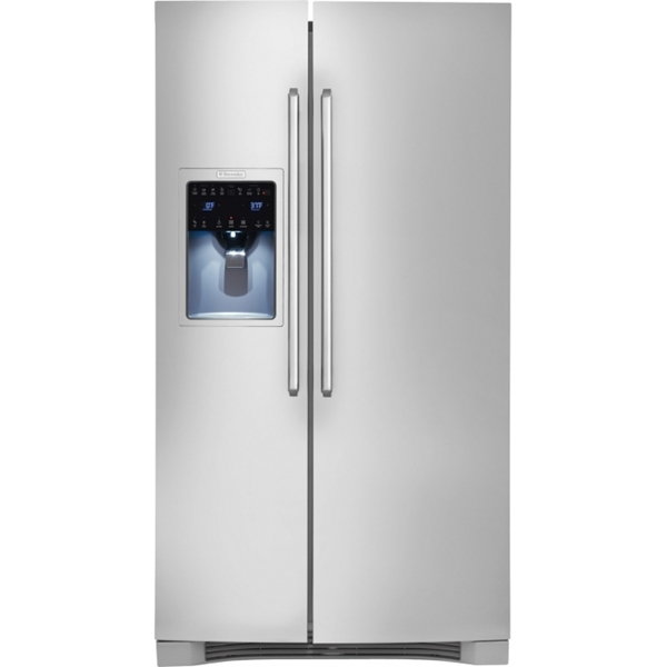 25.9 Cu Ft Side By Side Stainless Refrigerator