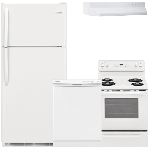 4-Piece Appliance Package - White