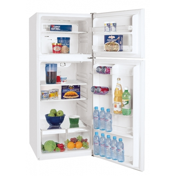 frigidaire ffpt12f3mw 12 cu ft top freezer apartment