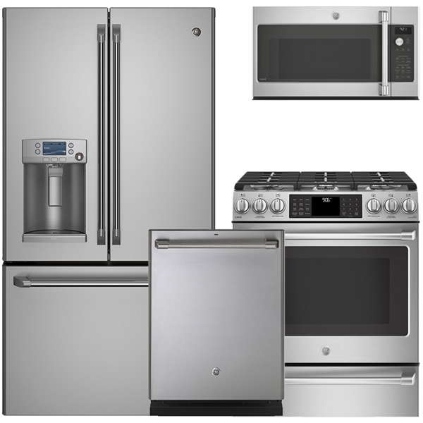 Superbe Cafe Series   Stainless Steel Appliance Package