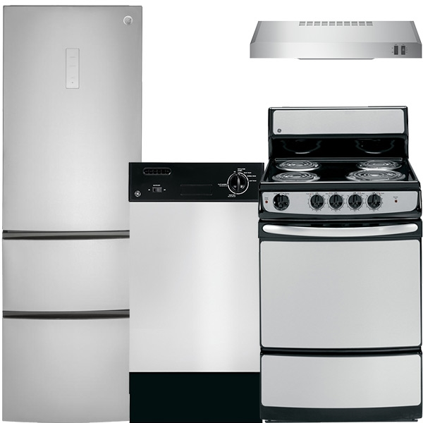 4 Piece Condo/Apartment Appliance Package  Apartment Appliance Packages