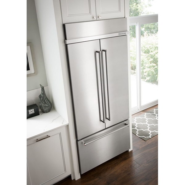 Kitchenaid Kbfn506ess 20 8 Cu Ft French Door Stainless