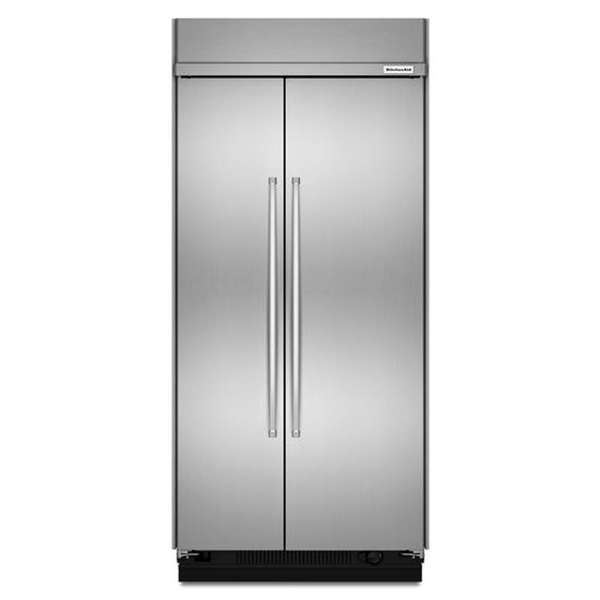 Kitchenaid Kbsn602ess 25 5 Cu Ft Side By Side Stainless