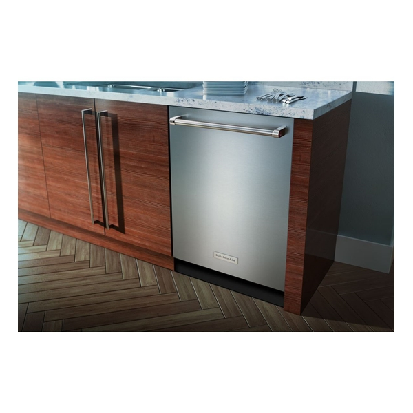 Kitchenaid kdte254ess 24 39db 6 cycle built in - Kitchenaid dishwasher not cleaning top rack ...