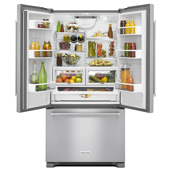 Kitchenaid Krfc302ess 21 9 Cu Ft French Door Stainless