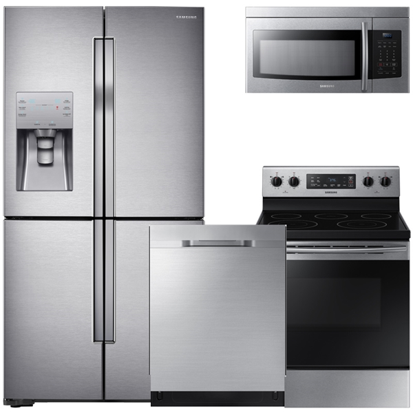4 Piece Stainless Steel Kitchen Package