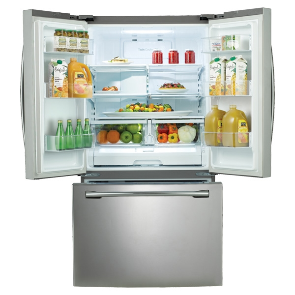 Samsung Rf260beaesr 25 5 Cu Ft French Door Stainless