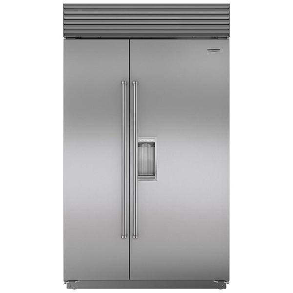 Sub Zero Bi48so 28 9 Cu Ft Side By Side Panel Ready