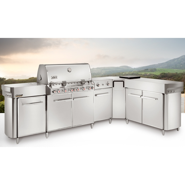 Weber 297001 Summit Grill Center With Social