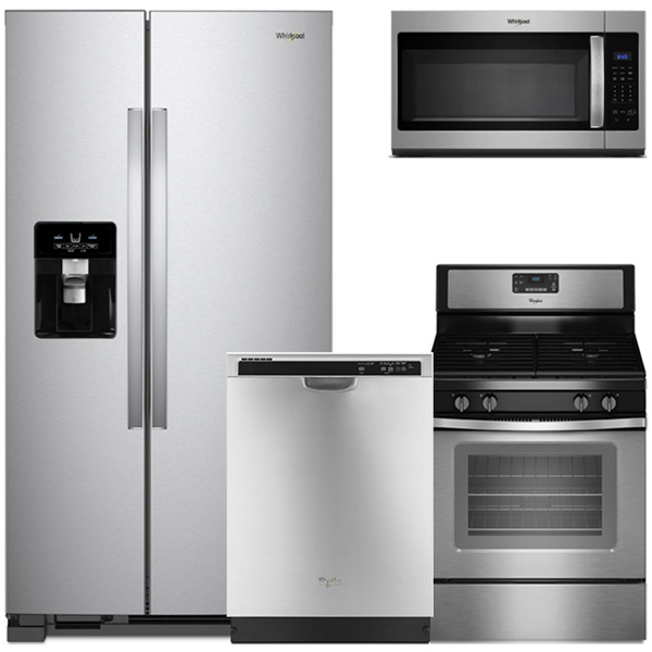 Merveilleux 4 Piece Appliance Package   Stainless Steel